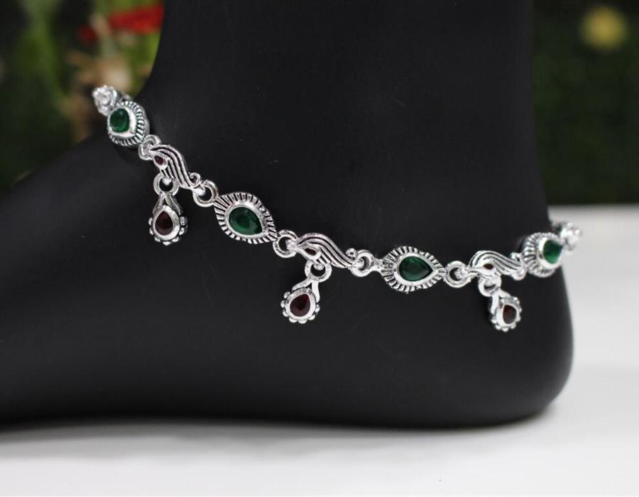 Silver Anklet, Toe Ring